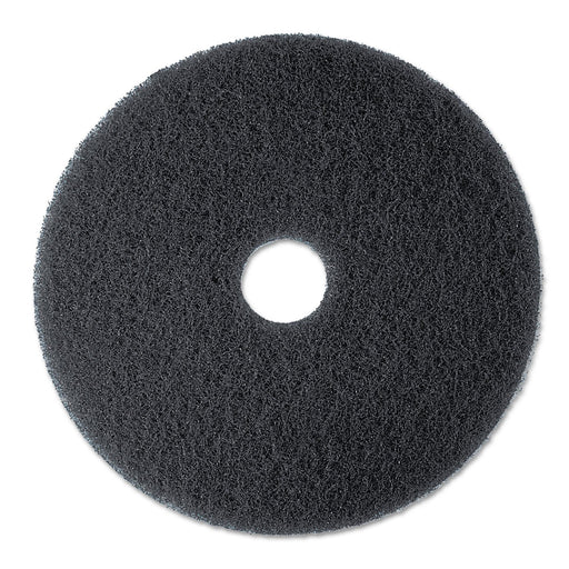 3M High Productivity Black Stripping Pads - 7300
