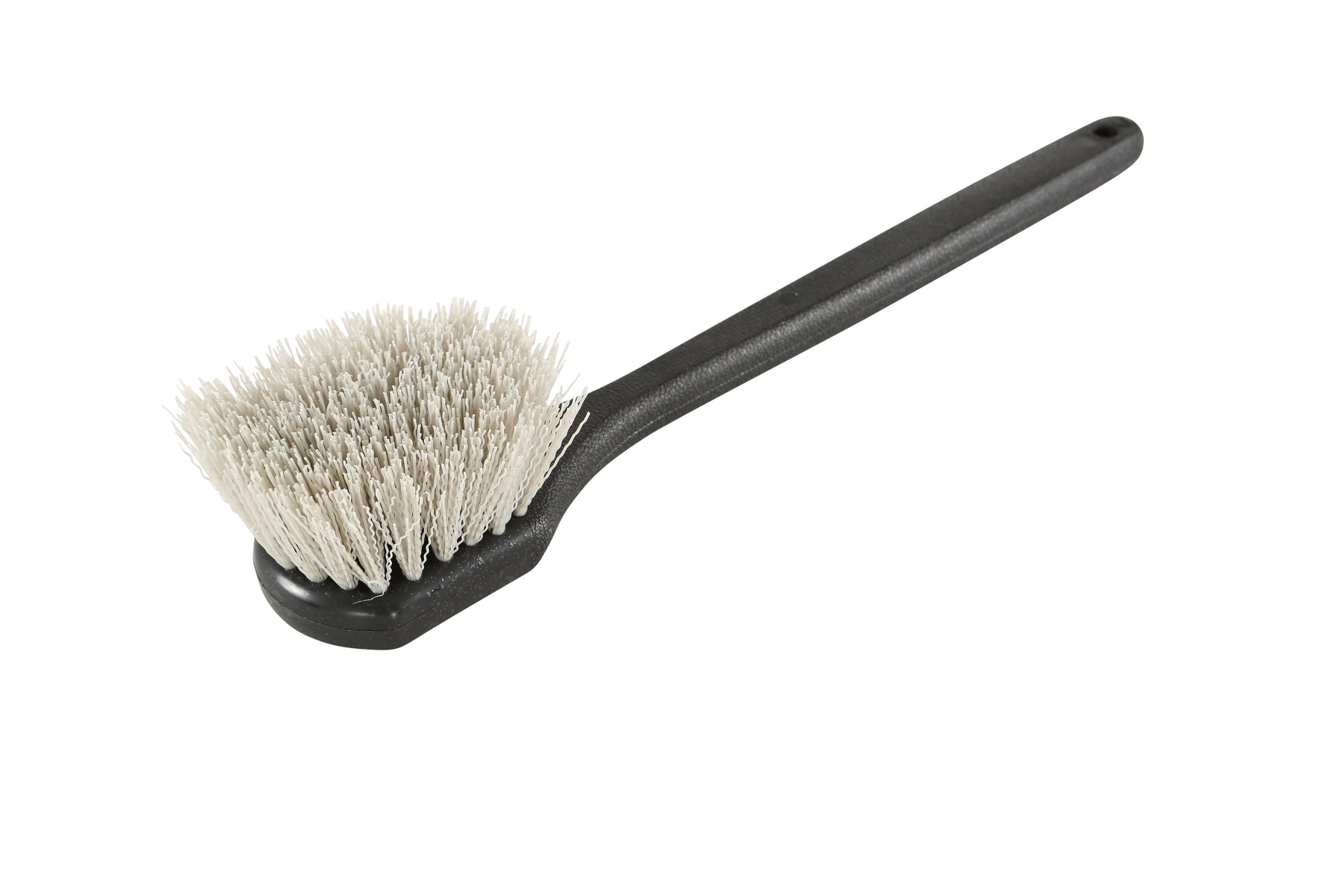 Long Handle Gong Brush - Stiff Bristles