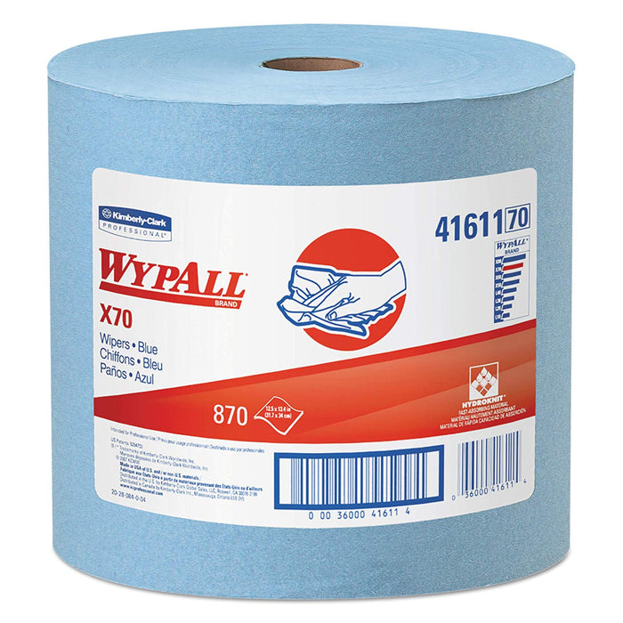 Wypall X70 Reusable Wipers - 1 Roll X 870 Sheets