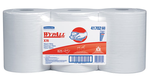 Wypall X70 Wipers - 3 Rolls X 275 Sheets