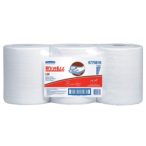Wypall L20 Wipers - 3 Rolls X 550 Sheets