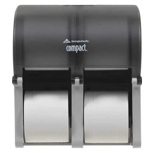 Georgia Pacific Quad Smoke Toilet Tissue Dispenser
