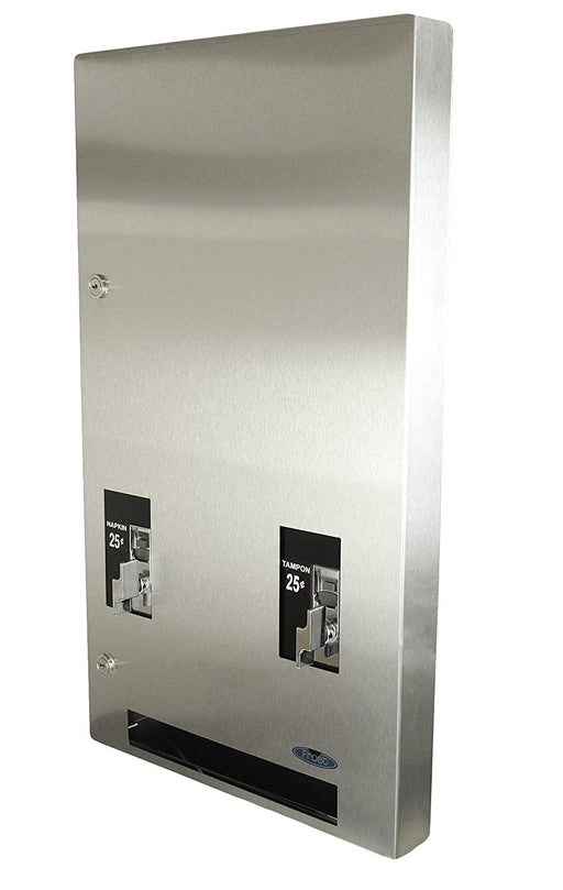 Frost Recessed Double Napkin/Tampon Dispenser