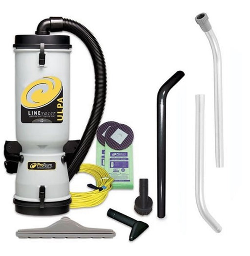 ProTeam LineVacer ULPA Backpack Vacuum with High Filtration Tool Kit - 100280