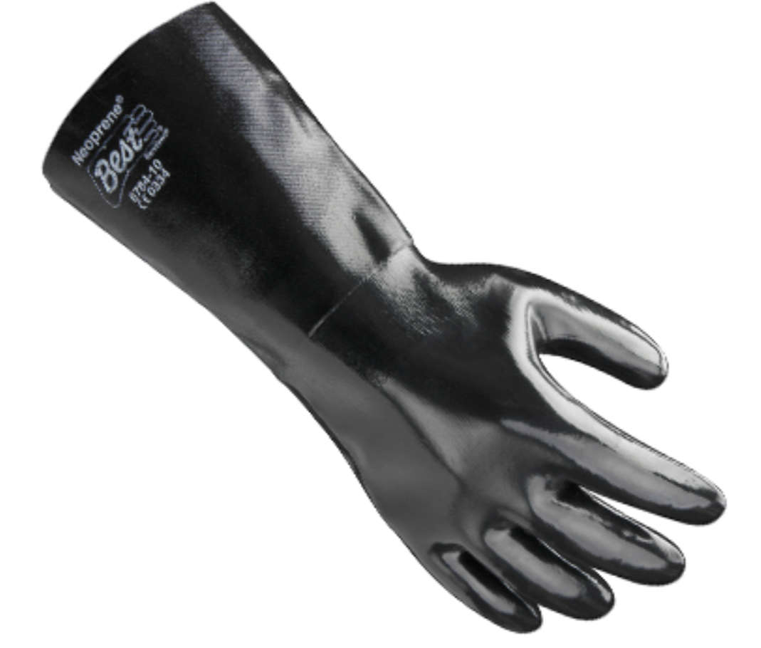 Showa Best 14 Inch Neoprene Gloves 6784 - Size 10 - Pair