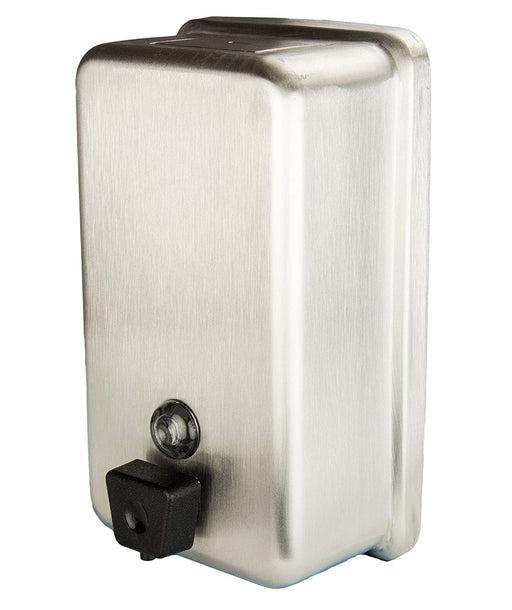 Frost Wall Mount Push Button Dispenser - Stainless Steel