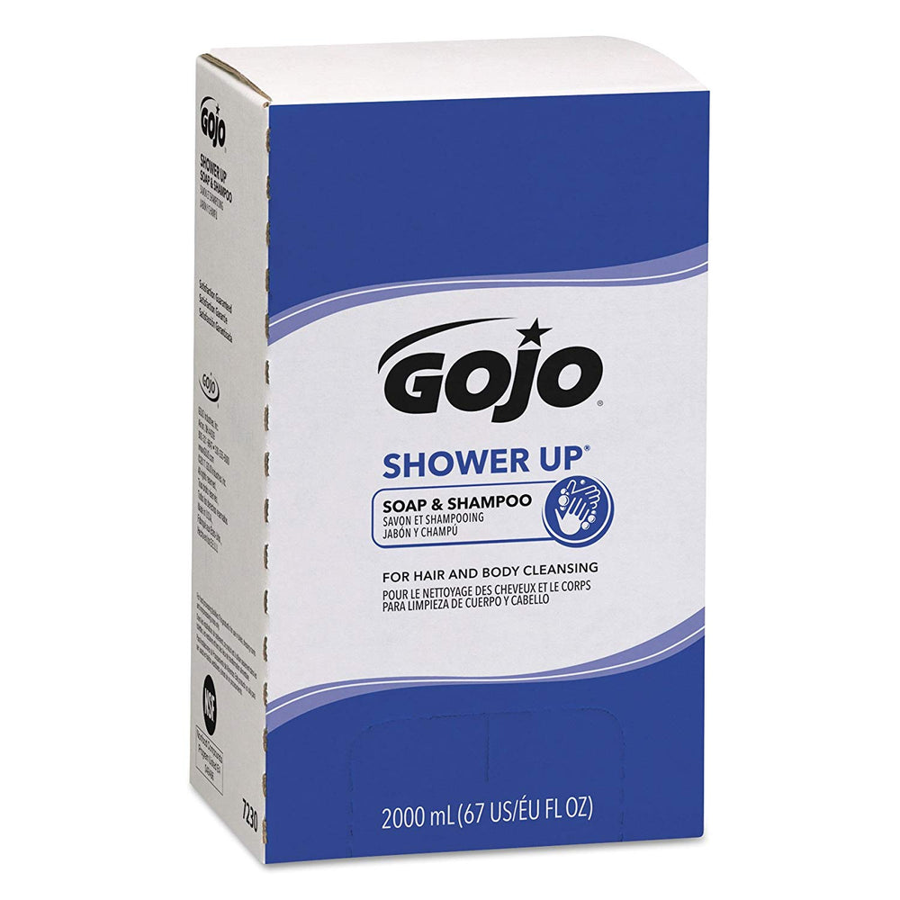 Gojo Shower Up Soap & Shampoo - 4 X 2000 mL