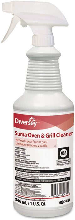 Suma Gel Oven & Grill Cleaner D9.6 - 12 X 946 mL