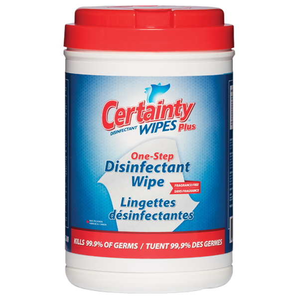 Certainty Plus Disinfectant Wipes - 6 X 200 Wipes