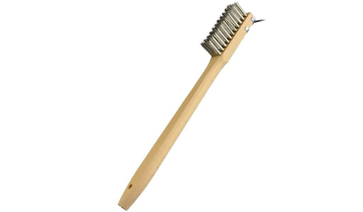 20 Inch Barbecue Brush with Heavy Duty Metal Scraper