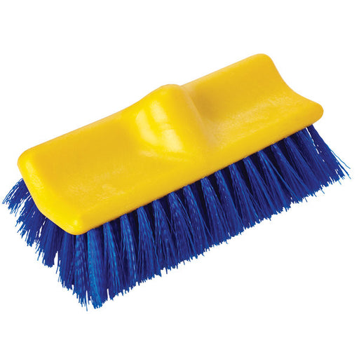 Rubbermaid 10 Inch Bi-Level Floor Brush - Blue
