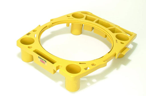 Rubbermaid Brute Rim Caddy - Yellow