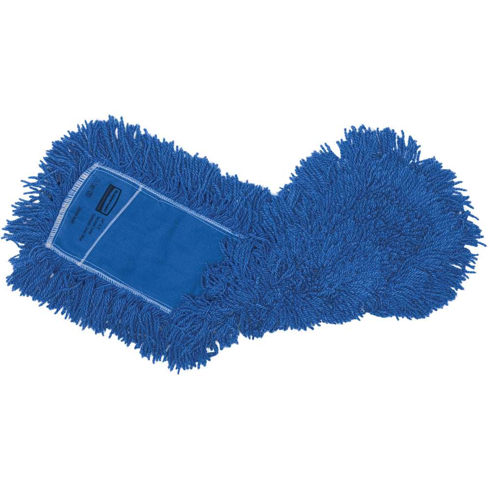 Rubbermaid Synthetic Twisted Loop Dust Mop - Blue