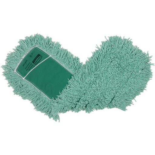 Rubbermaid Antimicrobial Dust Mop Blend Green