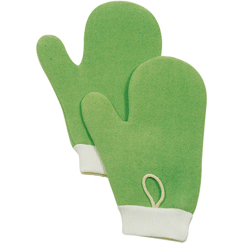 Rubbermaid Hygen All Purpose Microfiber Mitt Green - 12/Case