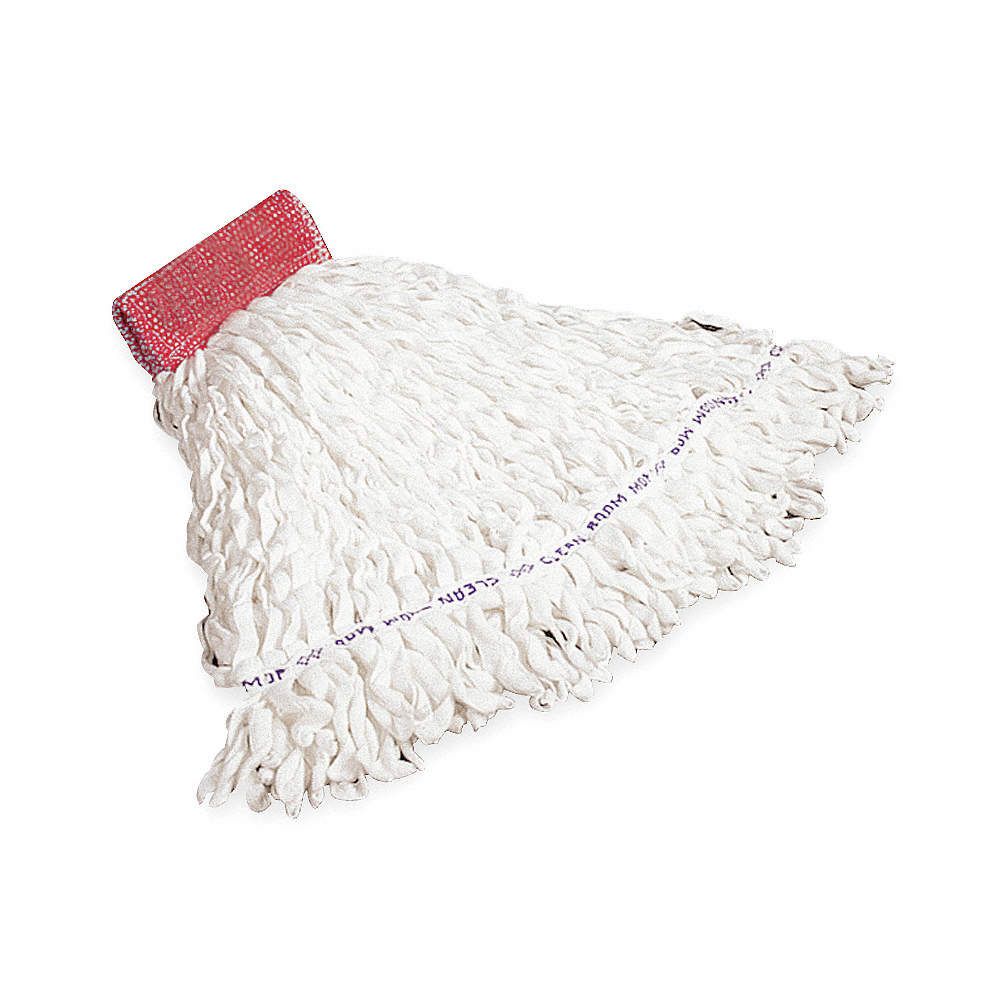 Rubbermaid Clean Room Wet Mop - White