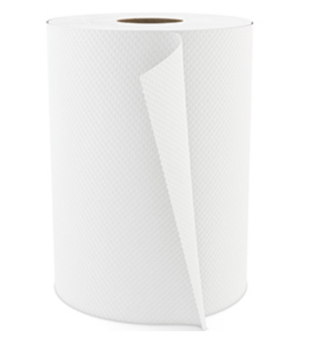 White Cascades Pro Select Roll Paper Towel.