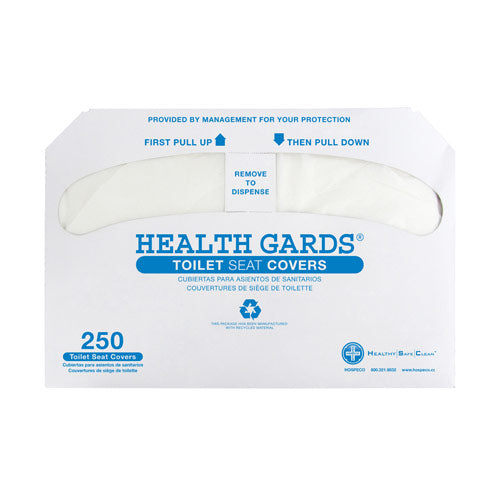 Health Gards Toilet Seat Covers Half Fold