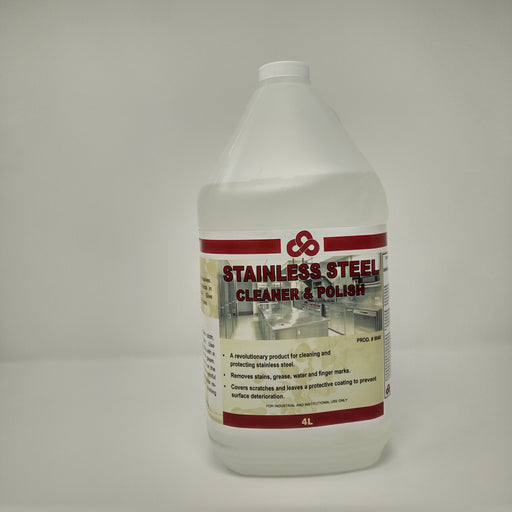 Stainless Steel Cleaner & Polish - 4 X 4 Litres