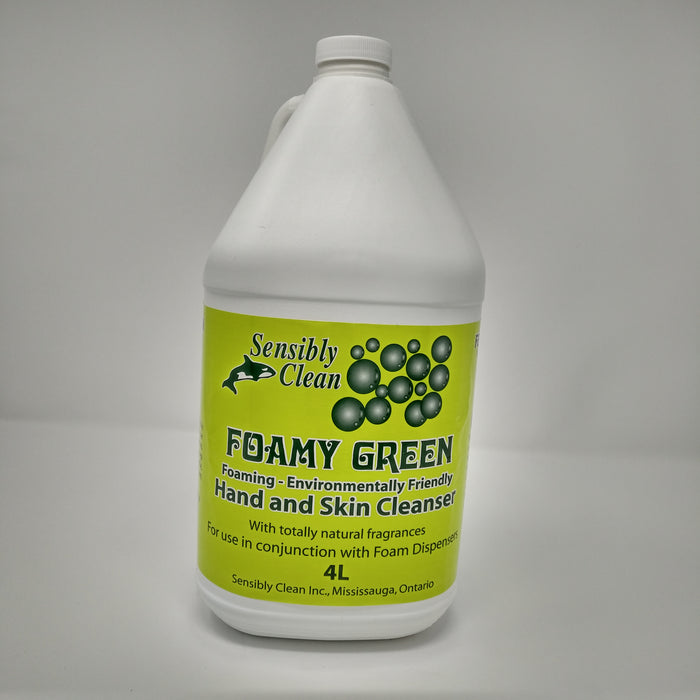 Foamy Green Hand and Skin Cleanser - 4 X 4 Litre