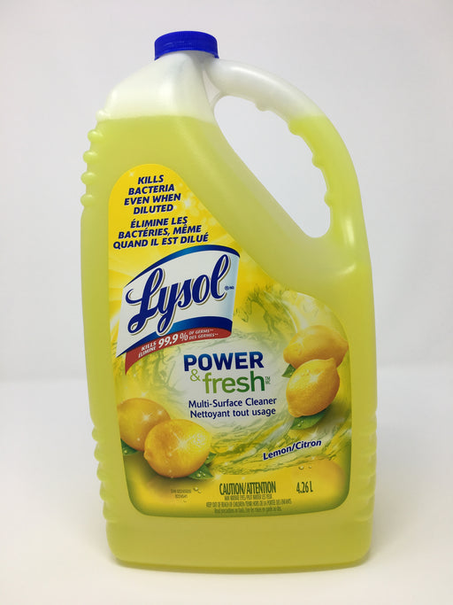 Lysol Multi-Surface Cleaner 4.26L - Health Canada Covid Approved