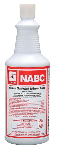 NABC Non-Acid Bathroom Cleaner - 946 mL