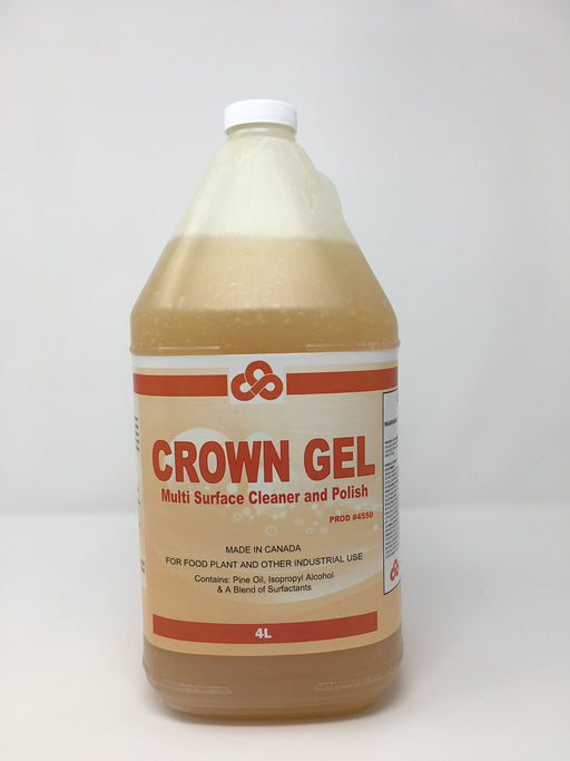 Crown Gel Multi Surface Cleaner and Polish