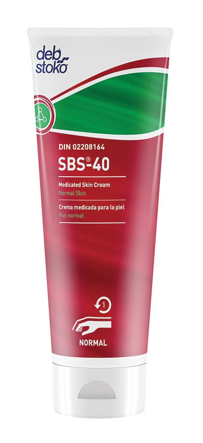SBS 40 Medicated Skin Cream SBSC100ML - 12 X 100 mL