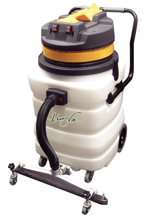 Johnny Vac 22.5 Gallon 2 Motors with Squeegee Wet & Dry Vacuum - JV420HD2