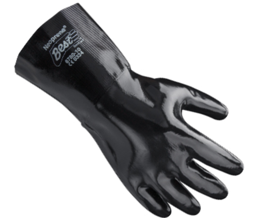 Showa Best 12 Inch Neoprene Gloves 6780 - Size 10 - Pair