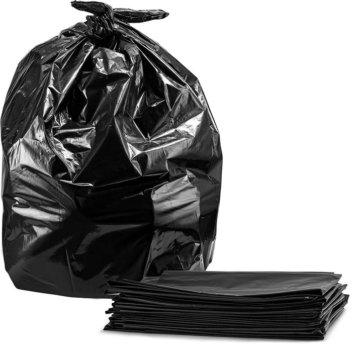 Black Contractor 3 Mil Garbage Bags 35X50 - 50/box