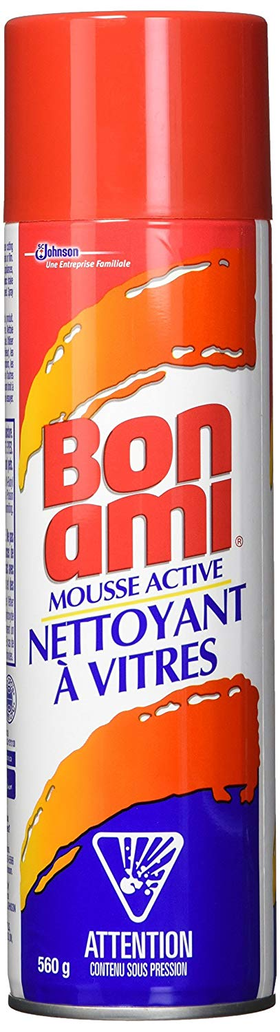 Bon Ami - Power Foam Glass Cleaner - 12 X 560g