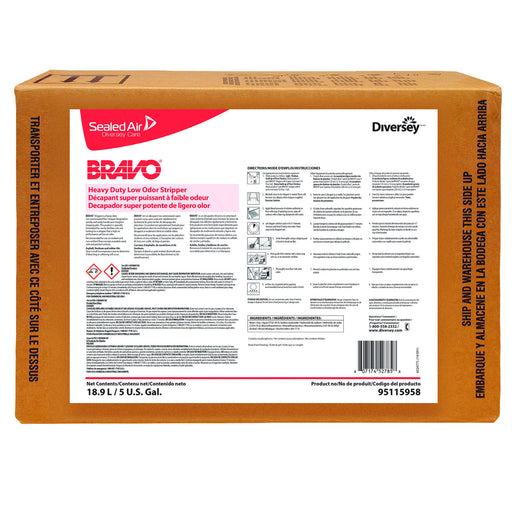 Bravo Heavy Duty Low Odor Stripper = 5 Gallon
