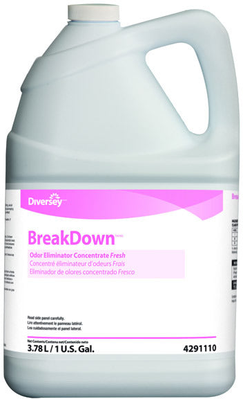 Breakdown Odour Eliminator Concentrate - 4 X 1 Gallon