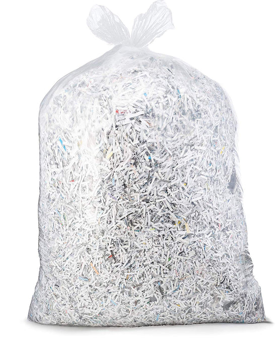Clear Garbage Bags 50X50