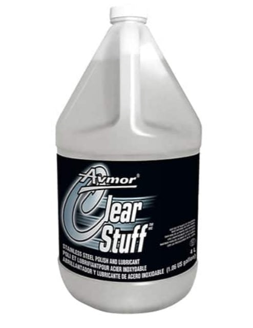 Clear Stuff Stainless Steel Polish and Lubricant - 2 X 4 Litres