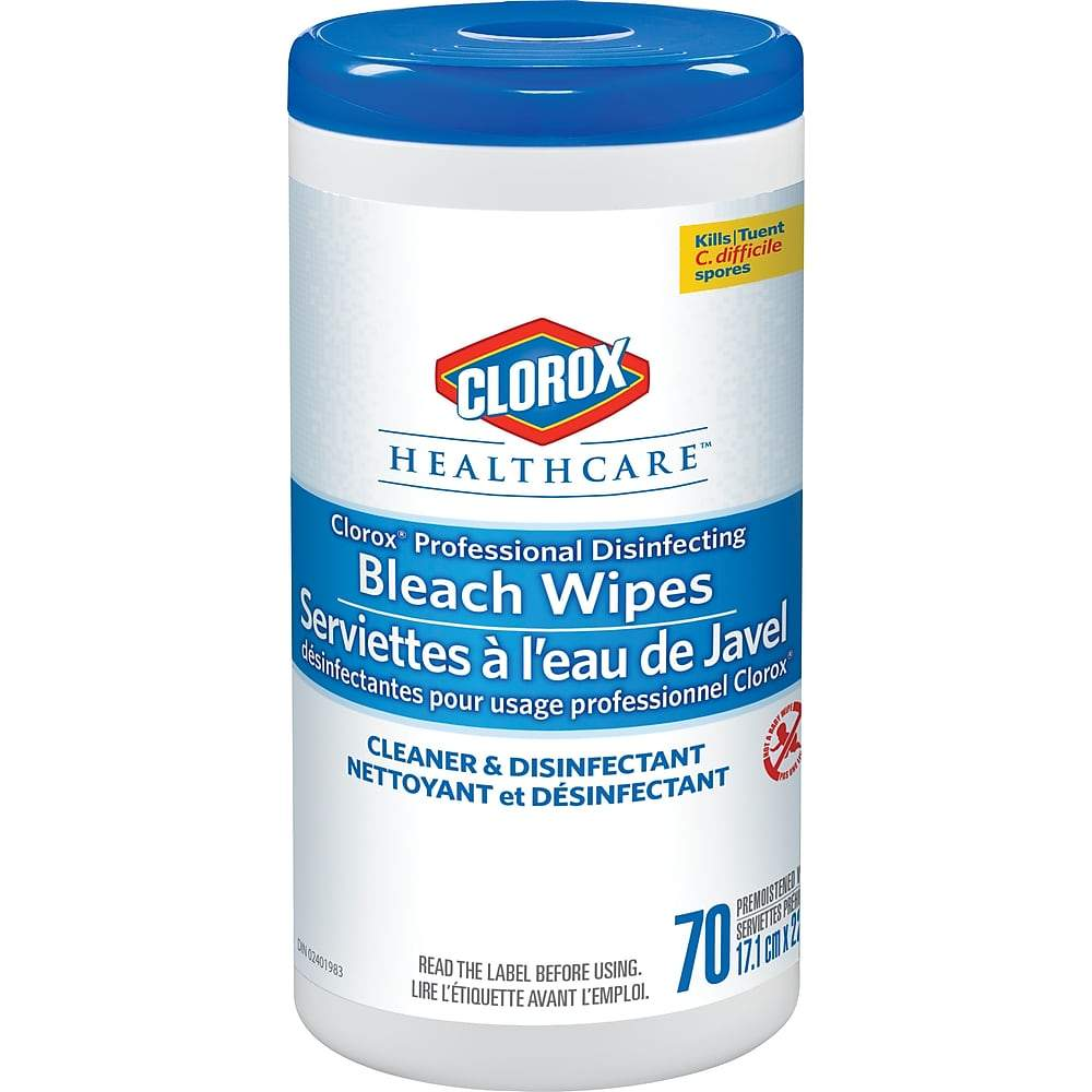 Clorox Healthcare Professional Disinfecting Bleach Wipes