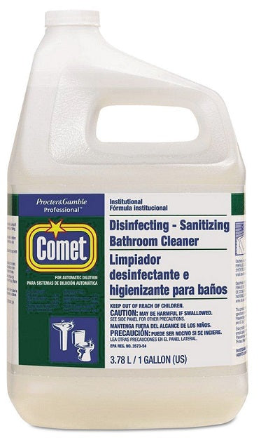 Comet Disinfecting Bathroom Cleaner - 3 X 3.78 L