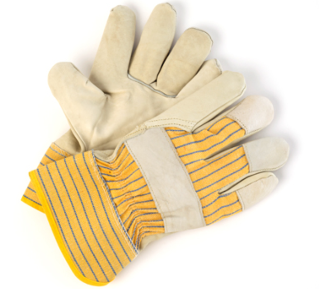 Mens Economical Leather Fitters Glove - 12 Pairs/Pack