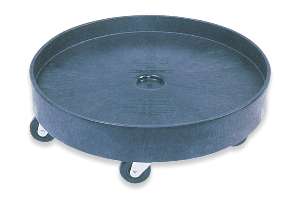 Universal Drum Dolly Black for 55 Gallon Container Black