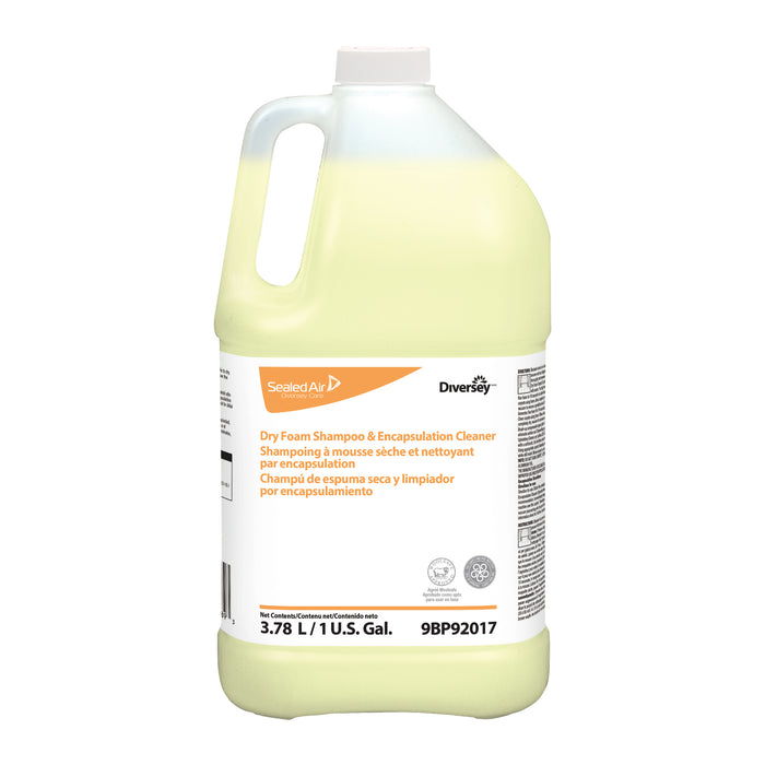 Dry Foam Shampoo & Encapsulation Cleaner - 4 X 1 Gallon