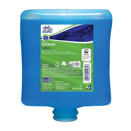 Estesol Lotion Light Duty Hand Cleaner - 4 X 2 Litre