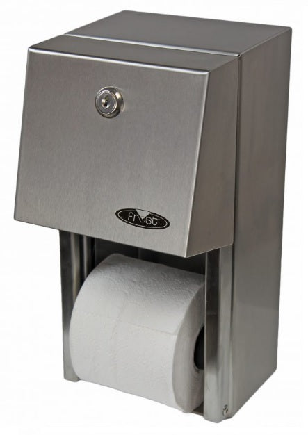 Frost Toilet Tissue Dispenser with Reserve Roll