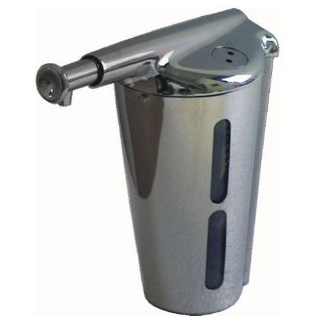 Frost Wall Mount Manual Soap Dispenser - Chrome