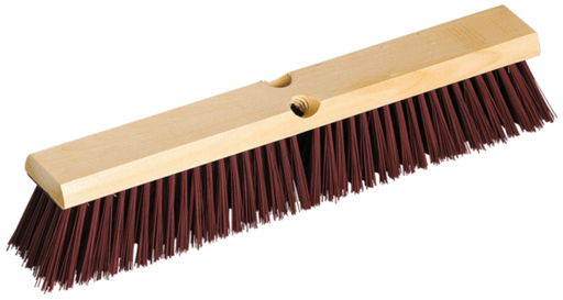 Garage/Concrete Wood Block Push Broom