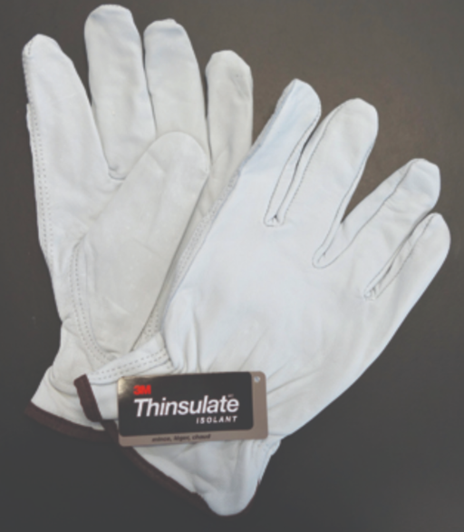 Goatskin Fleece 3M Insulate Lined Premium Drivers Gloves - 12 Pairs/Pack