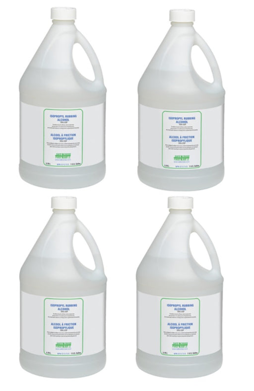 Isopropyl Alcohol 99%  USP - 4 Jugs X 1 Gallon - DELIVERY RESTRICTIONS***
