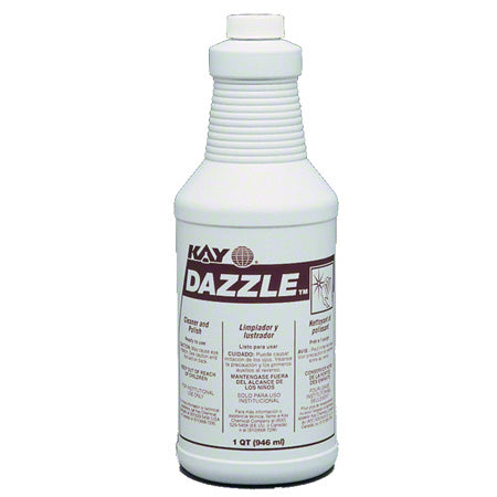 Light Blue Dazzle Stainless Steel Cleaner/Polish - 6 X 946 mL