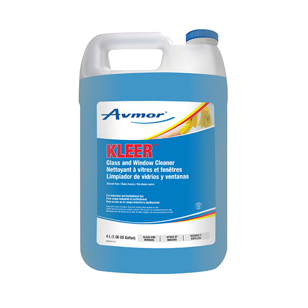 Kleer Glass Cleaner - 4 X 4 L