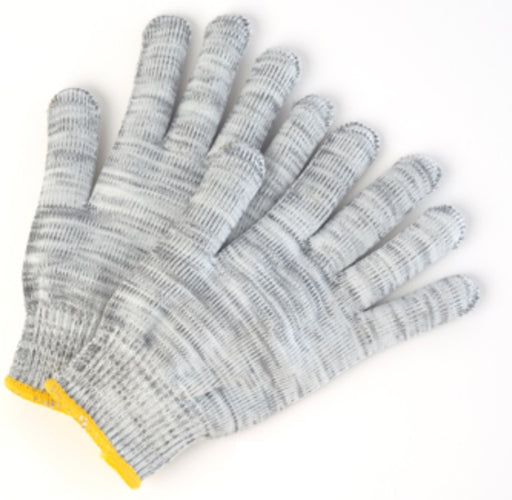 Nylon/Poly Melange Knit Gloves - 12 Pairs/Pack